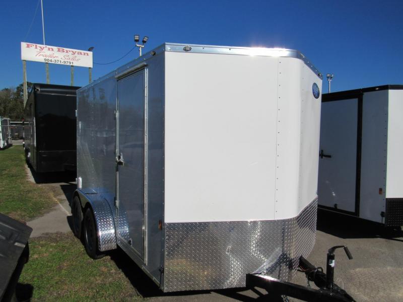 2021 Continental Cargo 7X12 Double Rear Door Enclosed Cargo Trailer