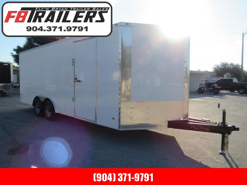 2022 Freedom Trailers 20ft with 5200lbs Axles Enclosed Cargo Trailer
