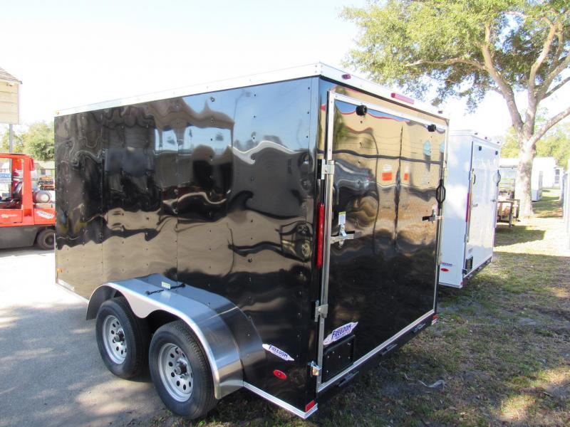 2021 Freedom Trailers 7X12 Enclosed Cargo Trailer