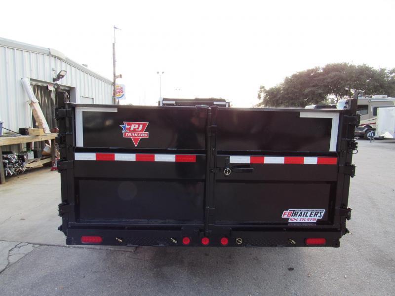 2020 PJ Trailers 16ft Tandem 10K Gooseneck Dump Trailer