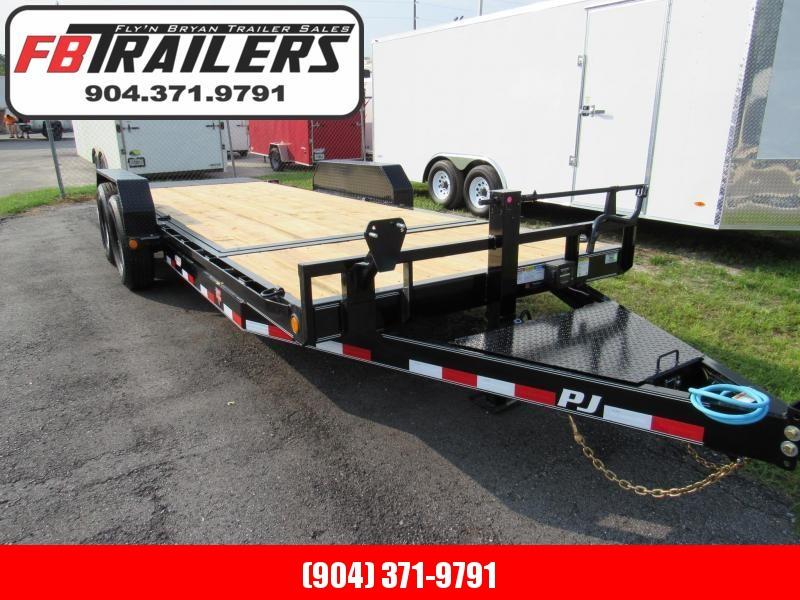 2022 PJ Trailers T6 Tilt Equipment Trailer