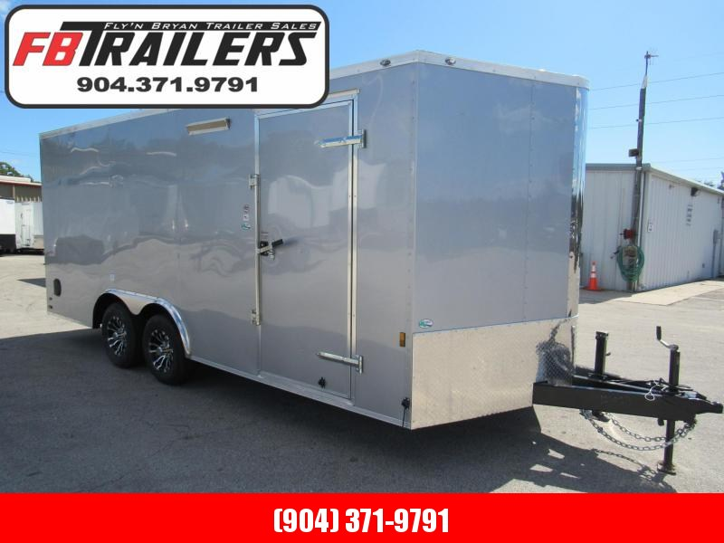 2020 18 ft Heavy Duty Construction Enclosed Cargo Trailer
