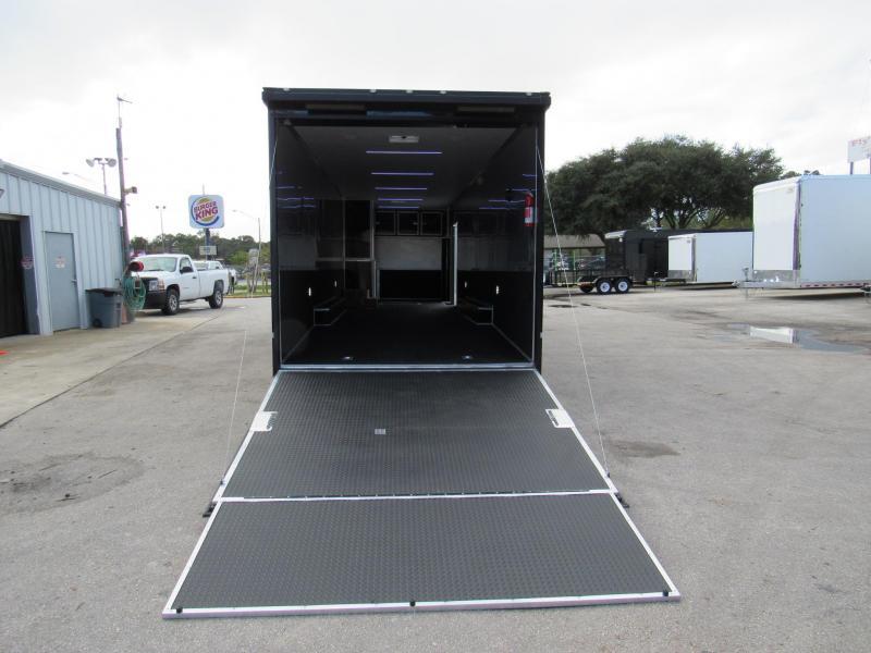 2021 Cargo Mate 34Ft Black Out Eliminator Car / Racing Trailer