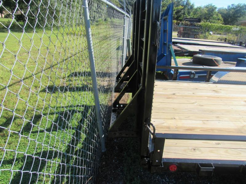 2022 PJ Trailers 7X20 HD with 5200lb Axles Utility Trailer