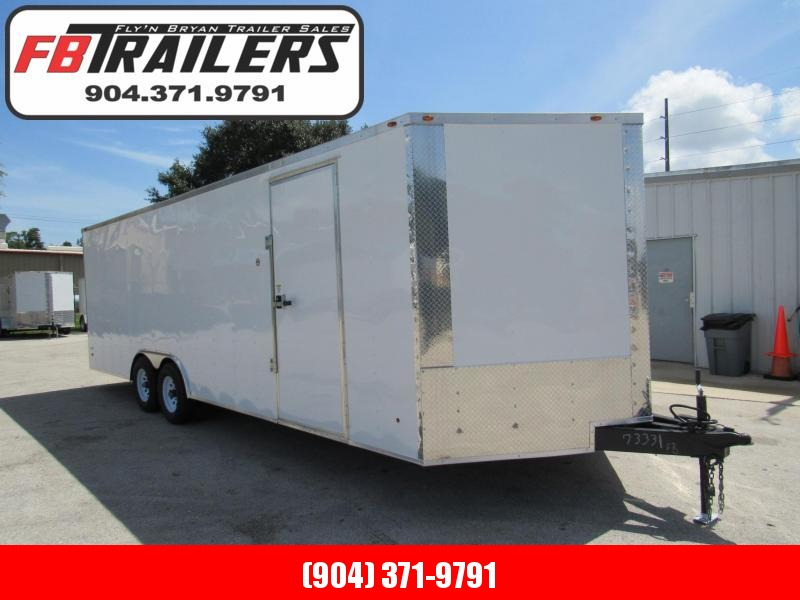 2022 Freedom Trailers 24ft With 5200lb Axles Car / Racing Trailer