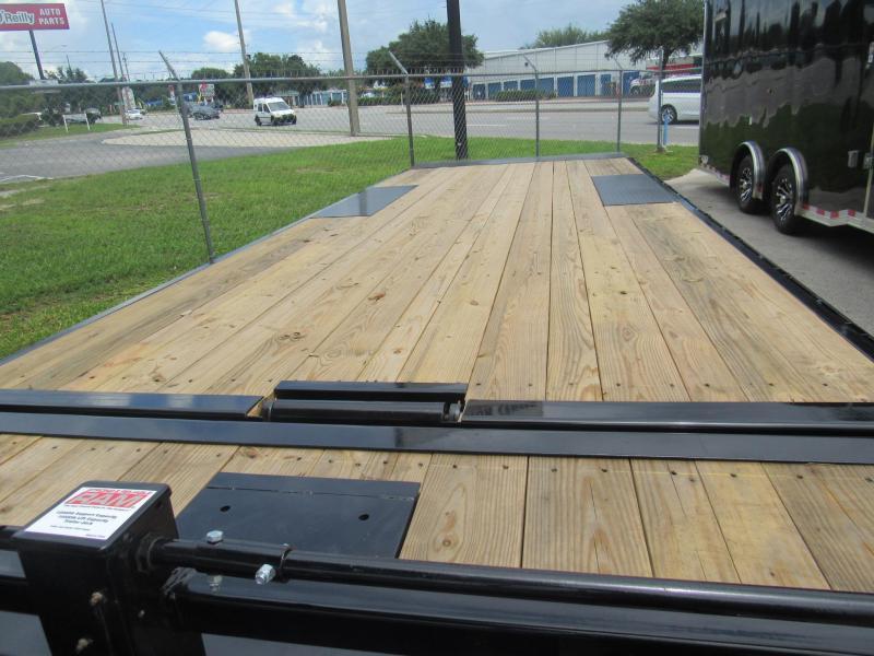 2022 PJ Trailers 24ft Deckover Tilt Equipment Trailer