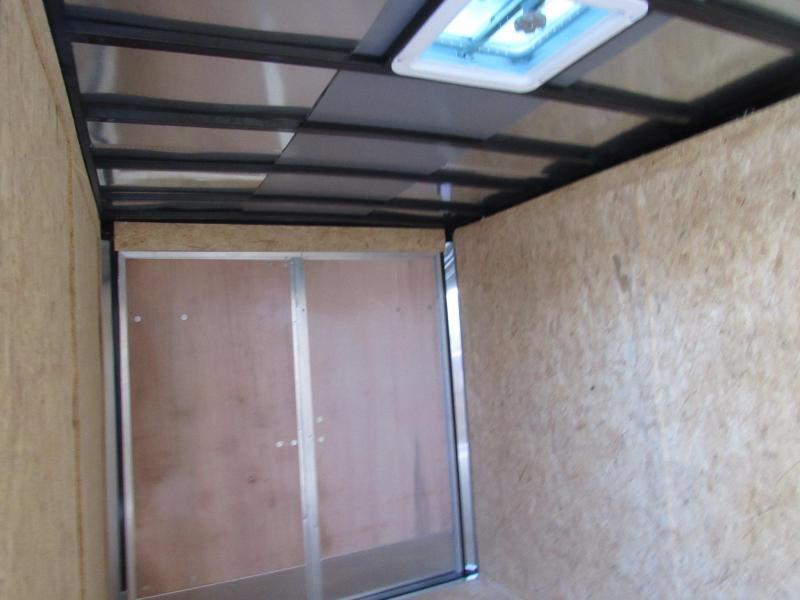 2022 Freedom Trailers 6X12 Double Door Enclosed Cargo Trailer