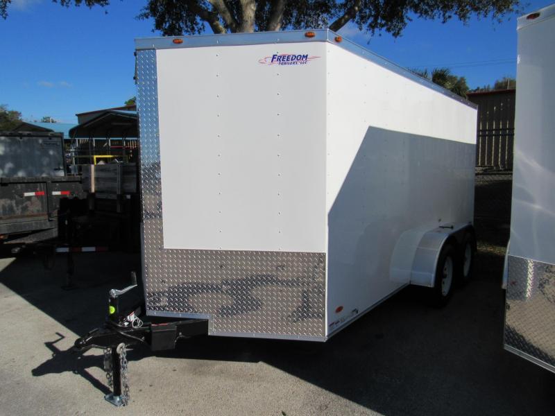 2022 Freedom Trailers 7x14 Enclosed Cargo Trailer