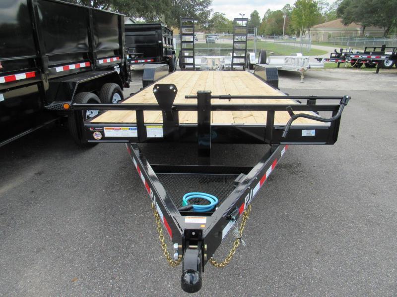 2020 PJ Trailers CC 22ft Equipment Trailer