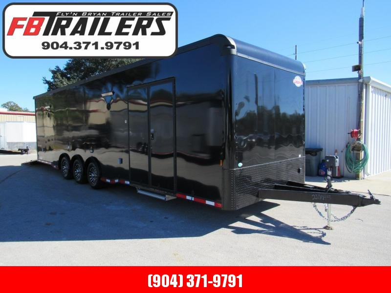 2021 Cargo Mate 32' Black Out Eliminator Series Car / Racing Trailer