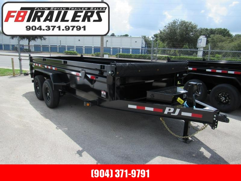 2021 PJ Trailers 16ft Dump Trailer