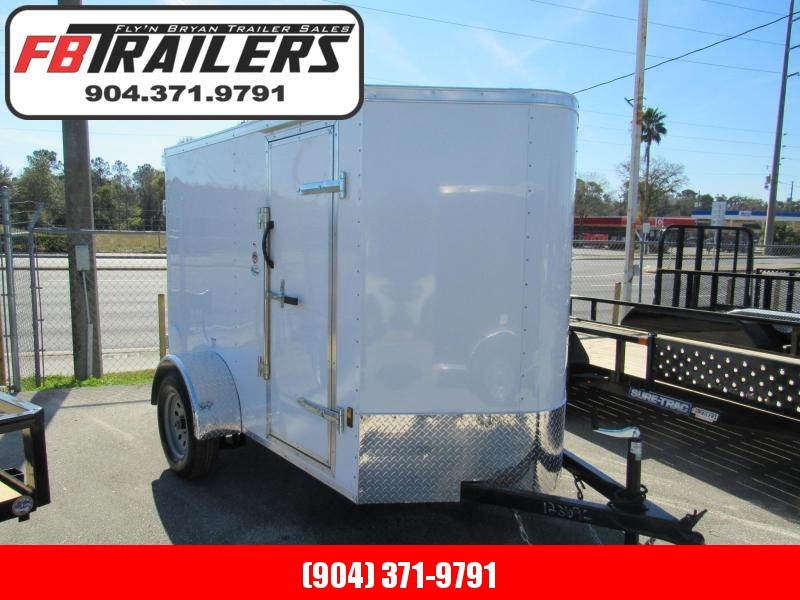 2021 Continental Cargo 5X8 Rear Double Doors Enclosed Cargo Trailer