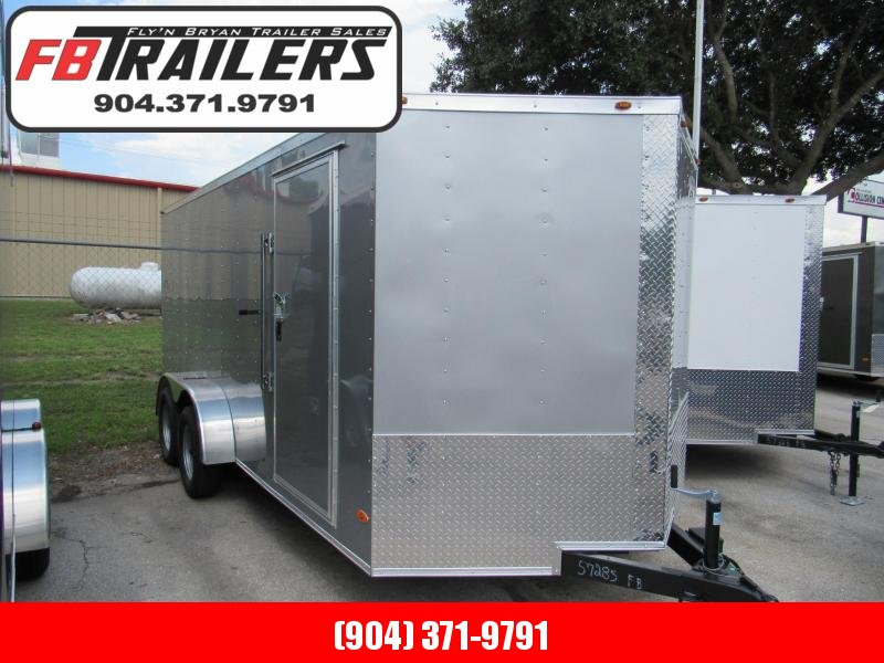 2021 Freedom Trailers 7X16 Enclosed Cargo Trailer