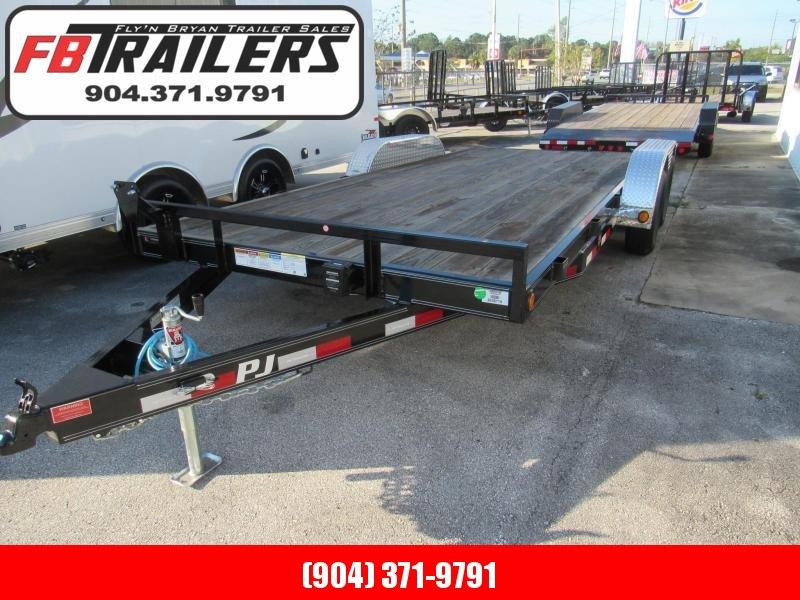 2022 PJ Trailers 18ft Car Hauler Equipment Trailer