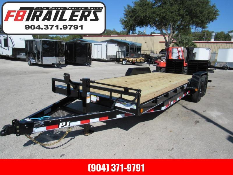 2021 PJ Trailers 22ft CC Model Equipment Trailer