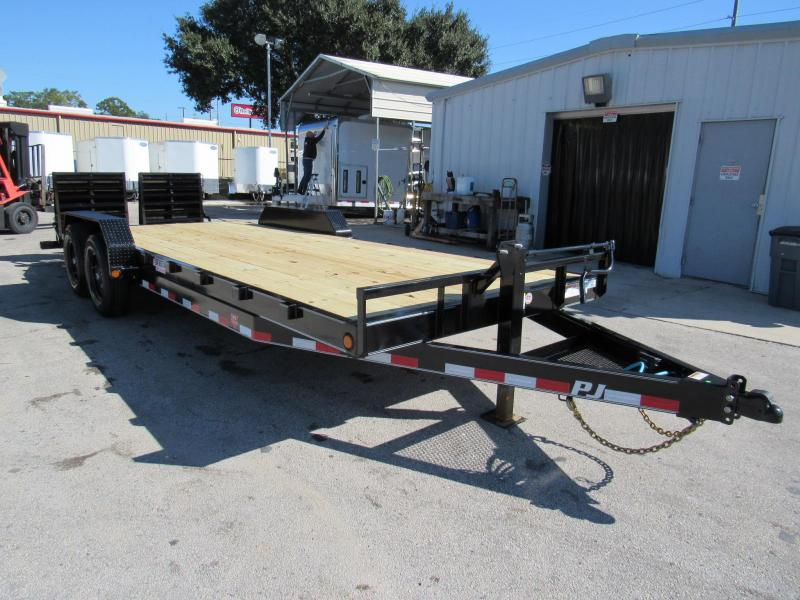 2021 PJ Trailers 22ft CC Model Equipment Trailer