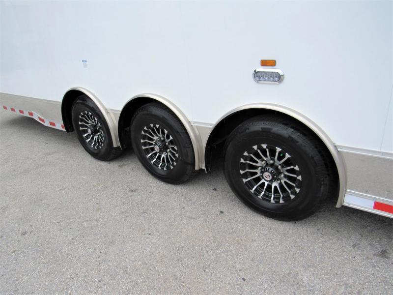 2021 Cargo Mate 48ft Gooseneck Bath Package Car / Racing Trailer