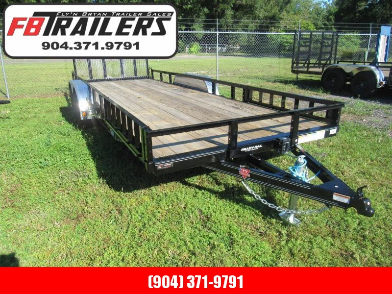 2022 PJ Trailers 7X20 ATV Removable Sides Utility Trailer