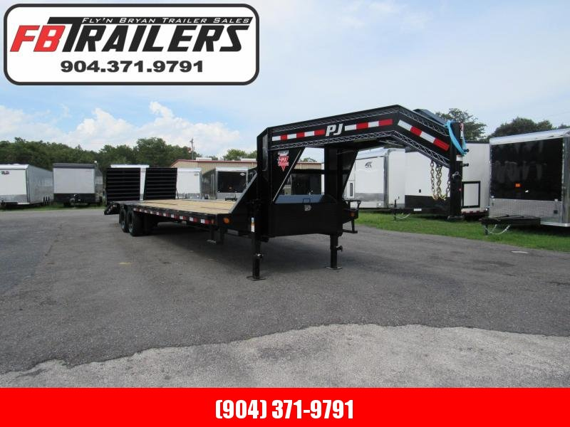2021 PJ Trailers 32ft Dual Tandem 25K Equipment Trailer
