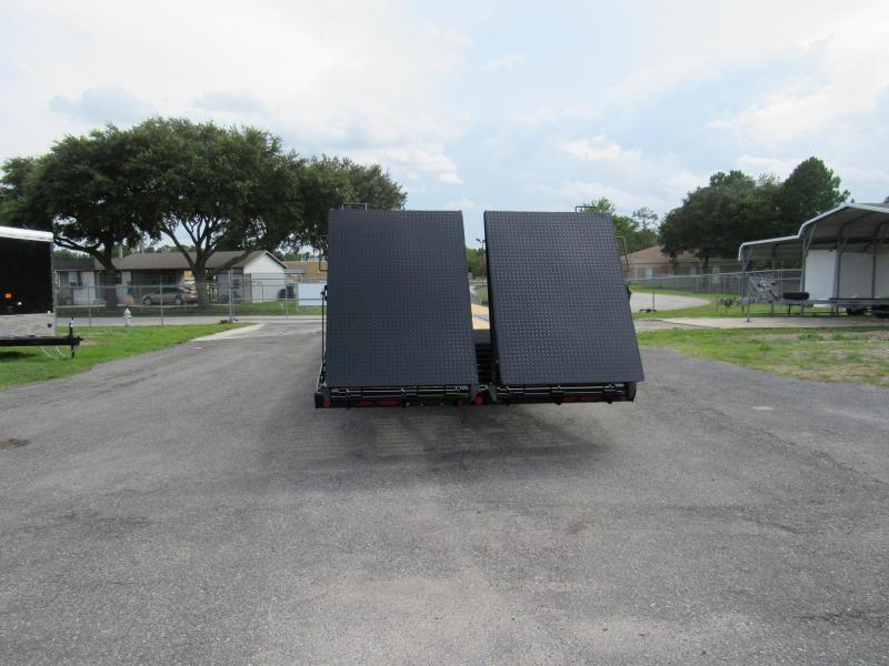 2021 PJ Trailers 32ft Dual Tandem 25K Equipment Trailer