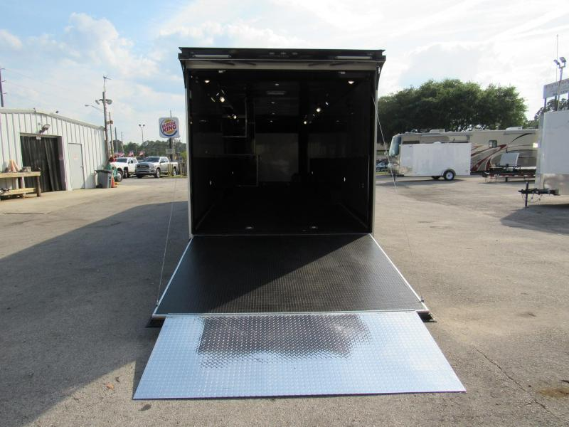 2021 Haulmark 34ft Black Out Car / Racing Trailer