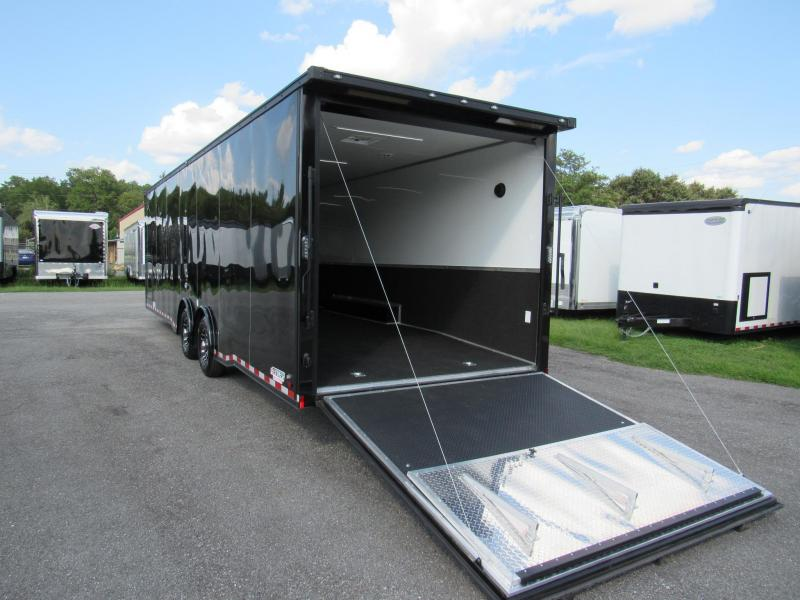 2021 Continental Cargo 30ft Black Out Edition Car / Racing Trailer