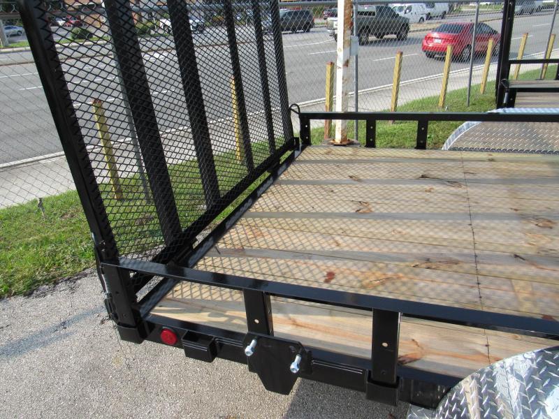 2022 PJ Trailers 7X16 ATV Utility Trailer