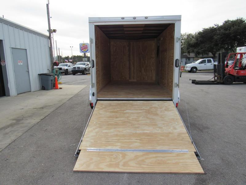 2021 Continental Cargo 7X12 5200lb Axles Enclosed Cargo Trailer