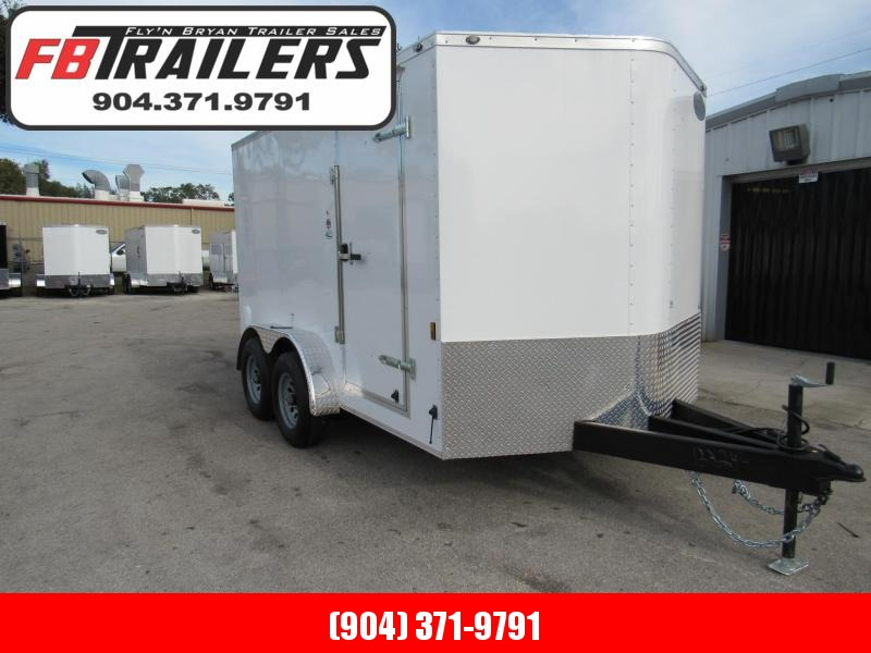 2021 Continental Cargo 7X12 5200lb Axles Enclosed Cargo Trailer