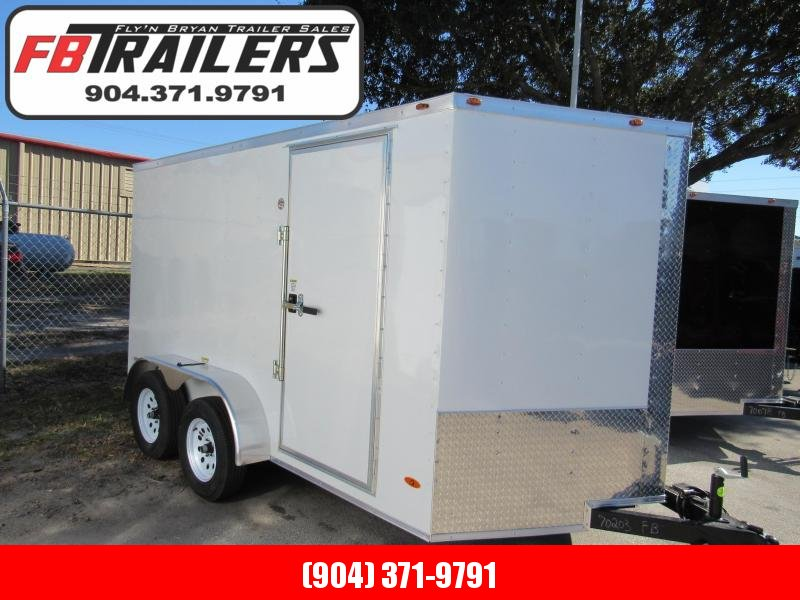 2021 Freedom Trailers 7X12 Enclosed Cargo Trailer