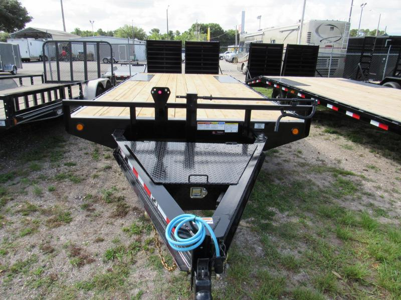 2021 PJ Trailers 22ft Deckover Equipment Trailer