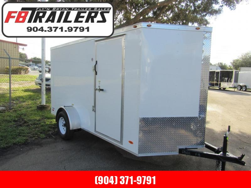 2021 Freedom Trailers 6X12 Double Door Enclosed Cargo Trailer