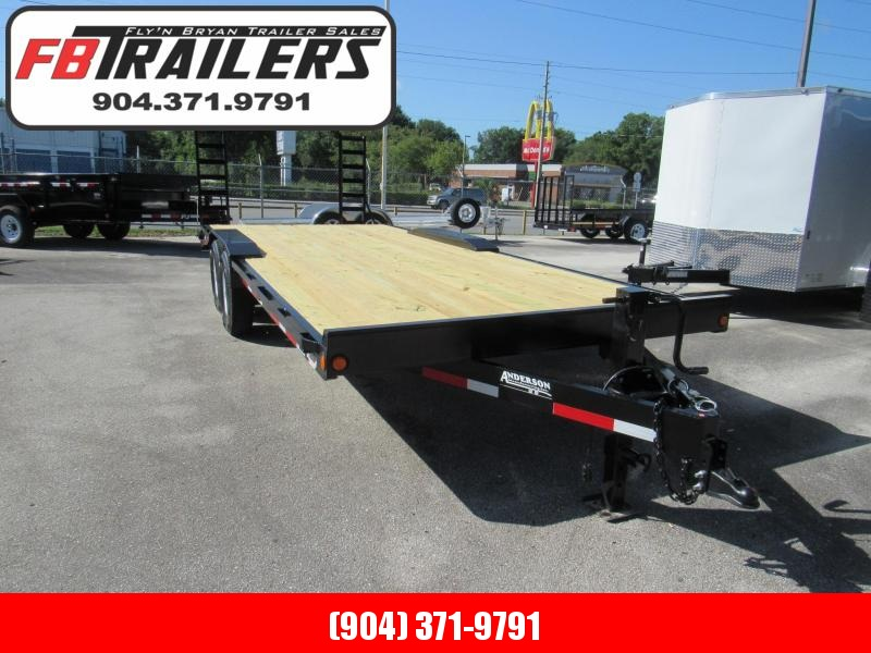 2020 Anderson Manufacturing EQ8206T Equipment Trailer