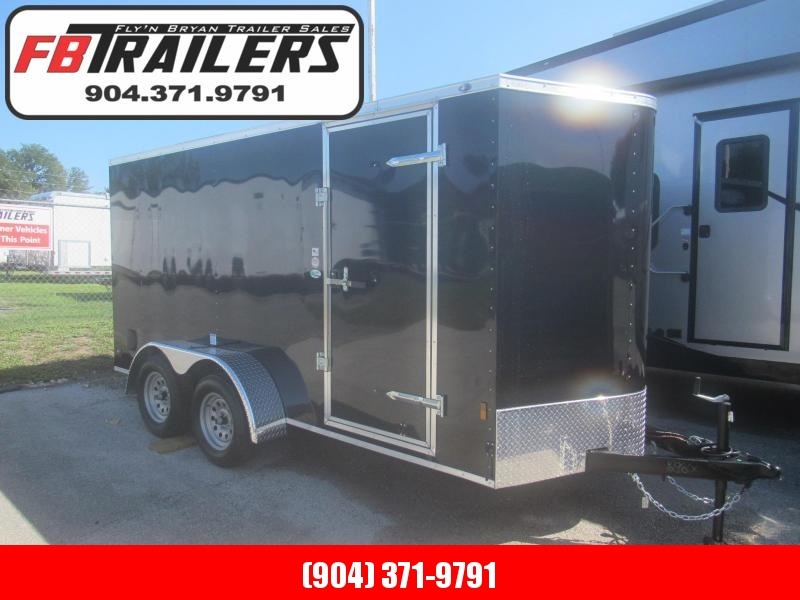 2021 Continental Cargo 6X14 Tandem Enclosed Cargo Trailer
