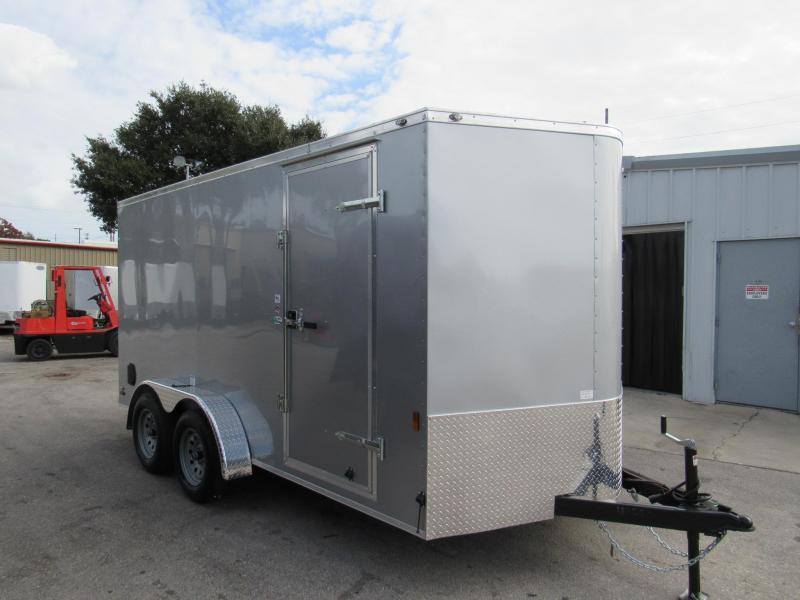 2020 Continental Cargo 7X14 Tandem Enclosed Cargo Trailer