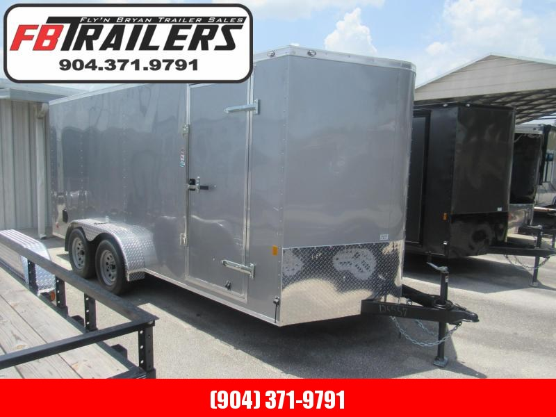 2020 Continental Cargo 7X16 Tandem Enclosed Cargo Trailer