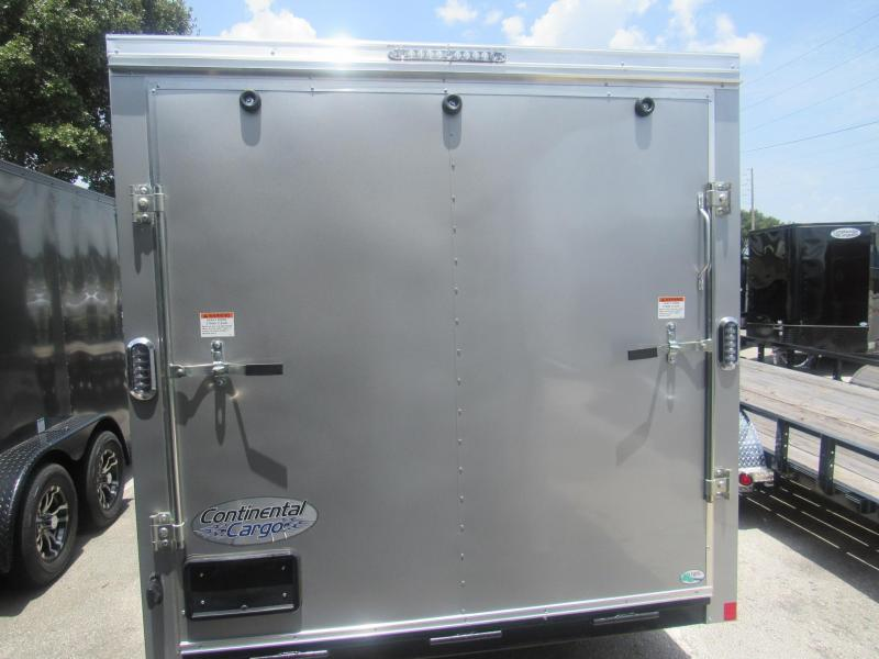 2020 Continental Cargo 7X16 Tandem Enclosed Cargo Trailer