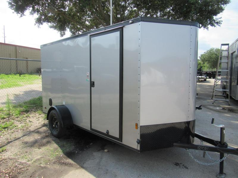2021 Continental Cargo 6X12 Black Out Enclosed Cargo Trailer
