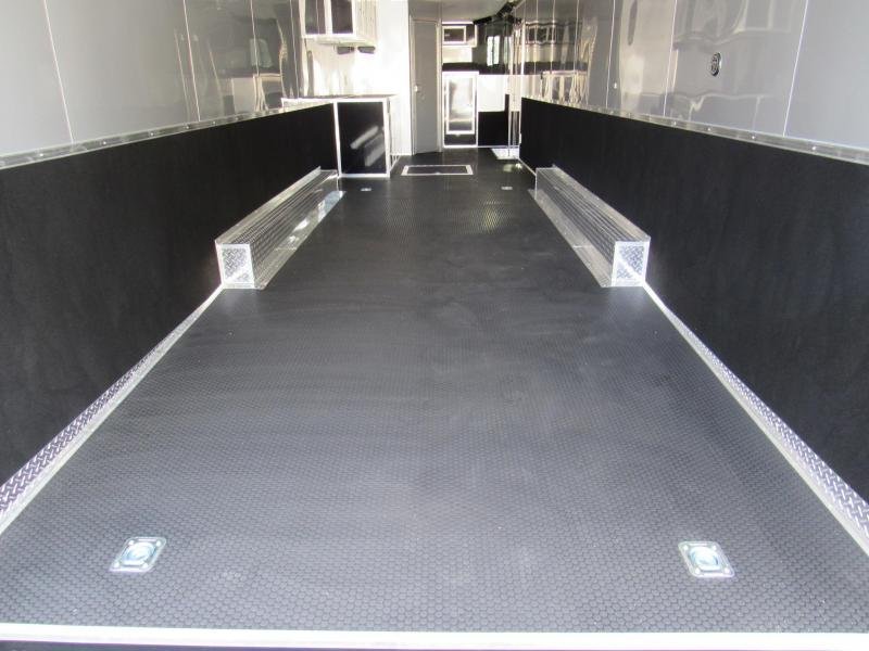 2020 44ft Goose Neck Bath Package Race Trailer by Vintage
