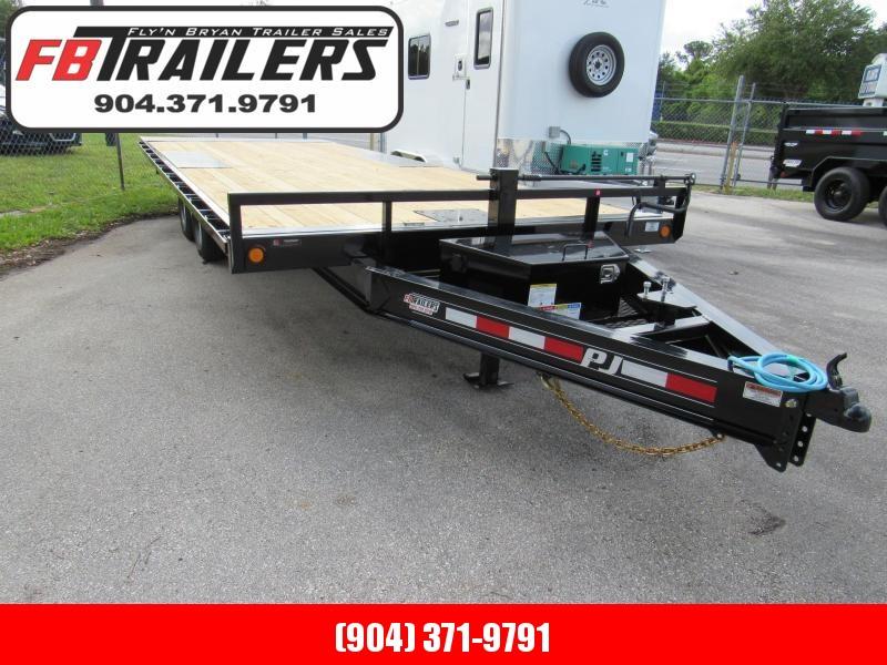 2022 PJ Trailers 22ft Deckover Tilt Equipment Trailer