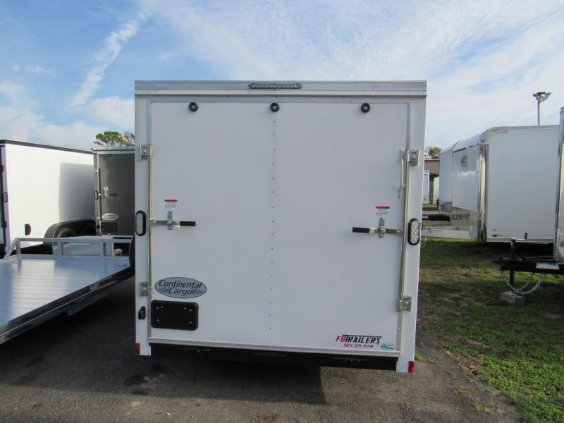 2021 Continental Cargo 7X14 Ramp Door Enclosed Cargo Trailer