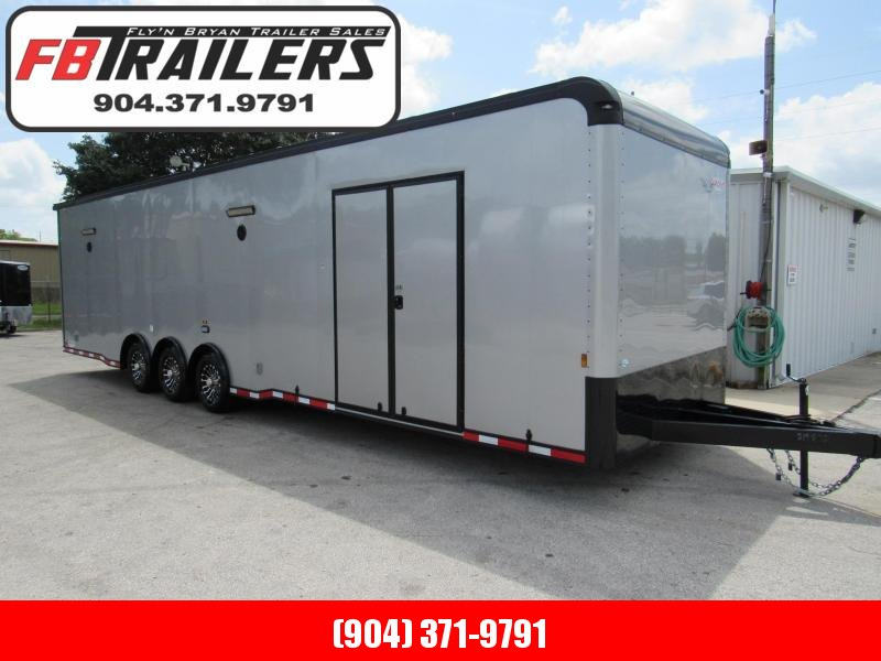 2021 Cargo Mate 34ft Black Out Eliminator Car / Racing Trailer