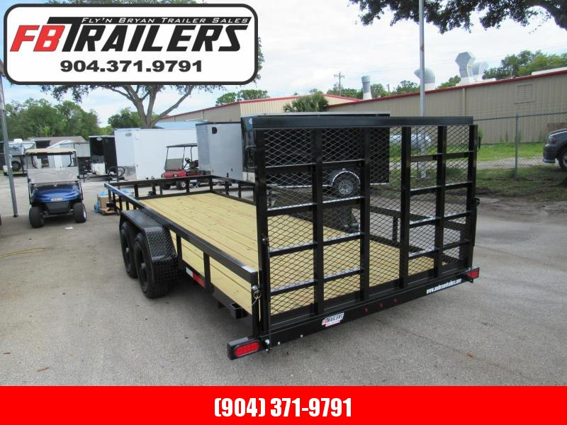 2021 Anderson Manufacturing 7X20 HD Package Utility Trailer
