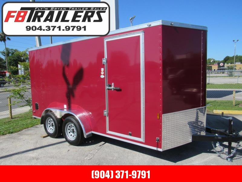 2022 Continental Cargo 7X14 Enclosed Cargo Trailer