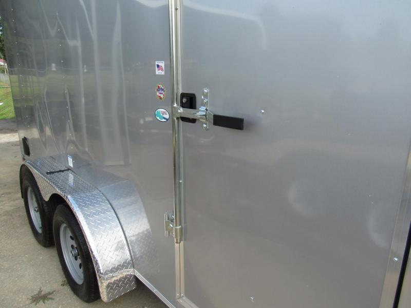 2022 Continental Cargo 7X14 Rear Double Doors  Enclosed Cargo Trailer