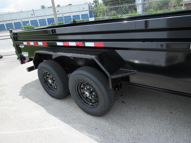 2021 PJ Trailers 7X16 Low Pro Dump Trailer