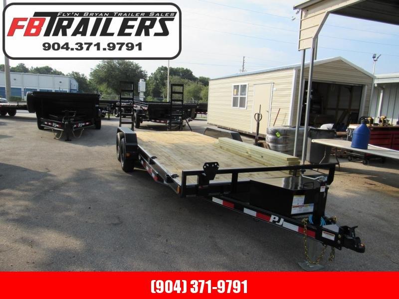 2022 PJ Trailers 20ft Car Hauler Equipment Trailer