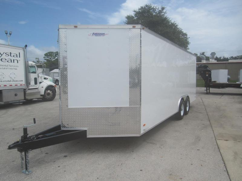 2022 Freedom Trailers 8.5X20 with 5200lb Axles Car / Racing Trailer