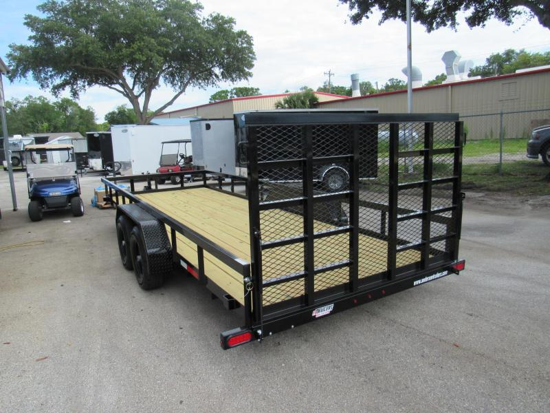 2020 Anderson Manufacturing 7X20 HD Ramp Utility Trailer