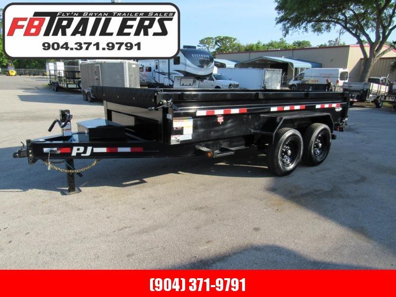 2021 PJ Trailers 14ft DL Low Pro Dump Trailer